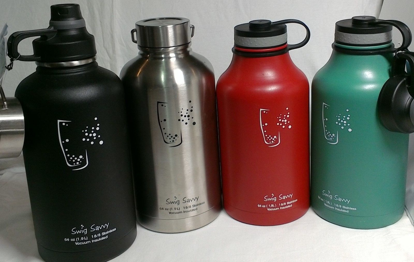 6e8d46f33a Swig Savvy 64.Oz Stainless Steel Insulated Water Bottle With Wide Mouth Bpa  Free #
