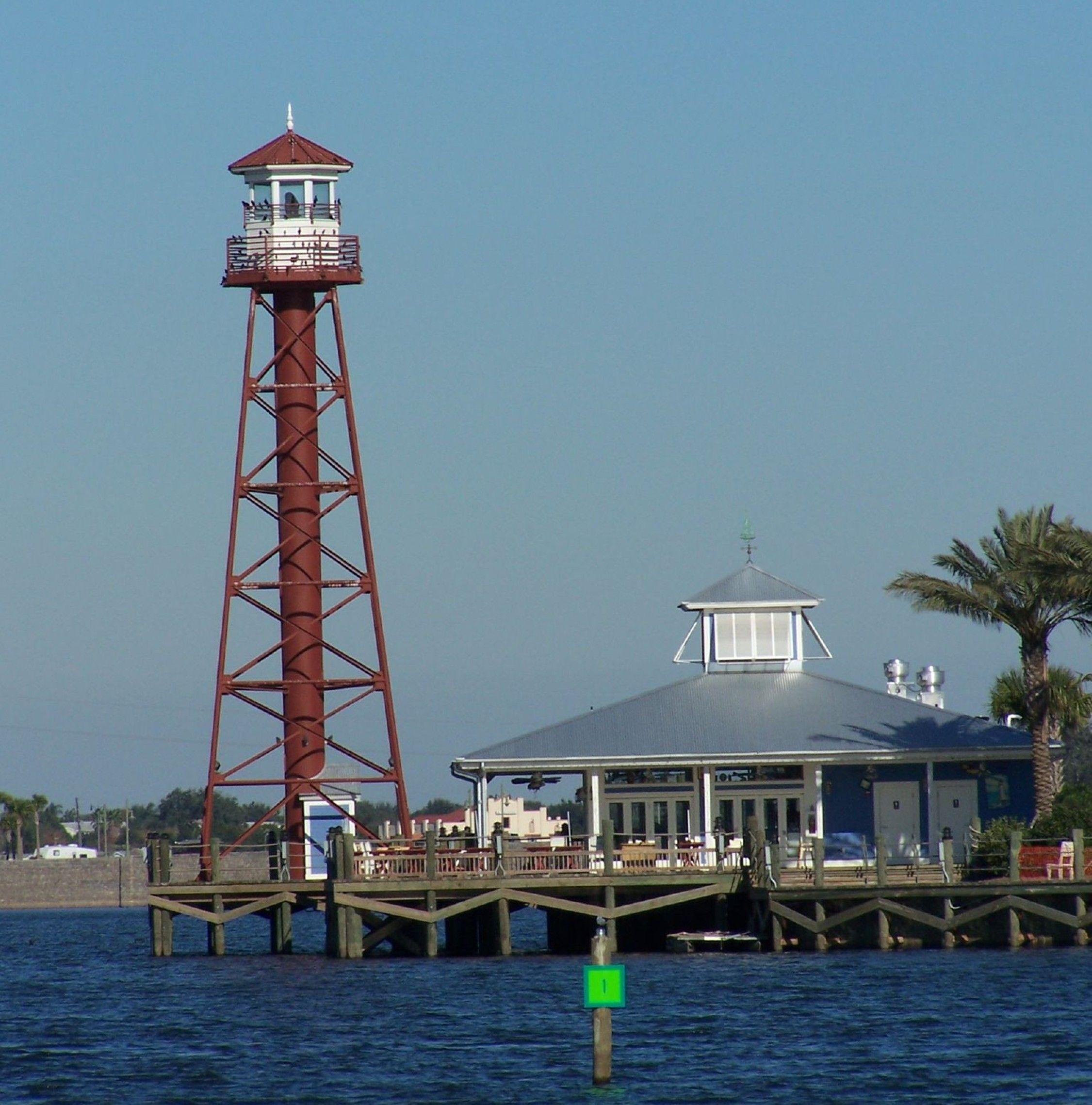 Lighthouse Restaurant At Lake Sumter Landing I Had A Birthday