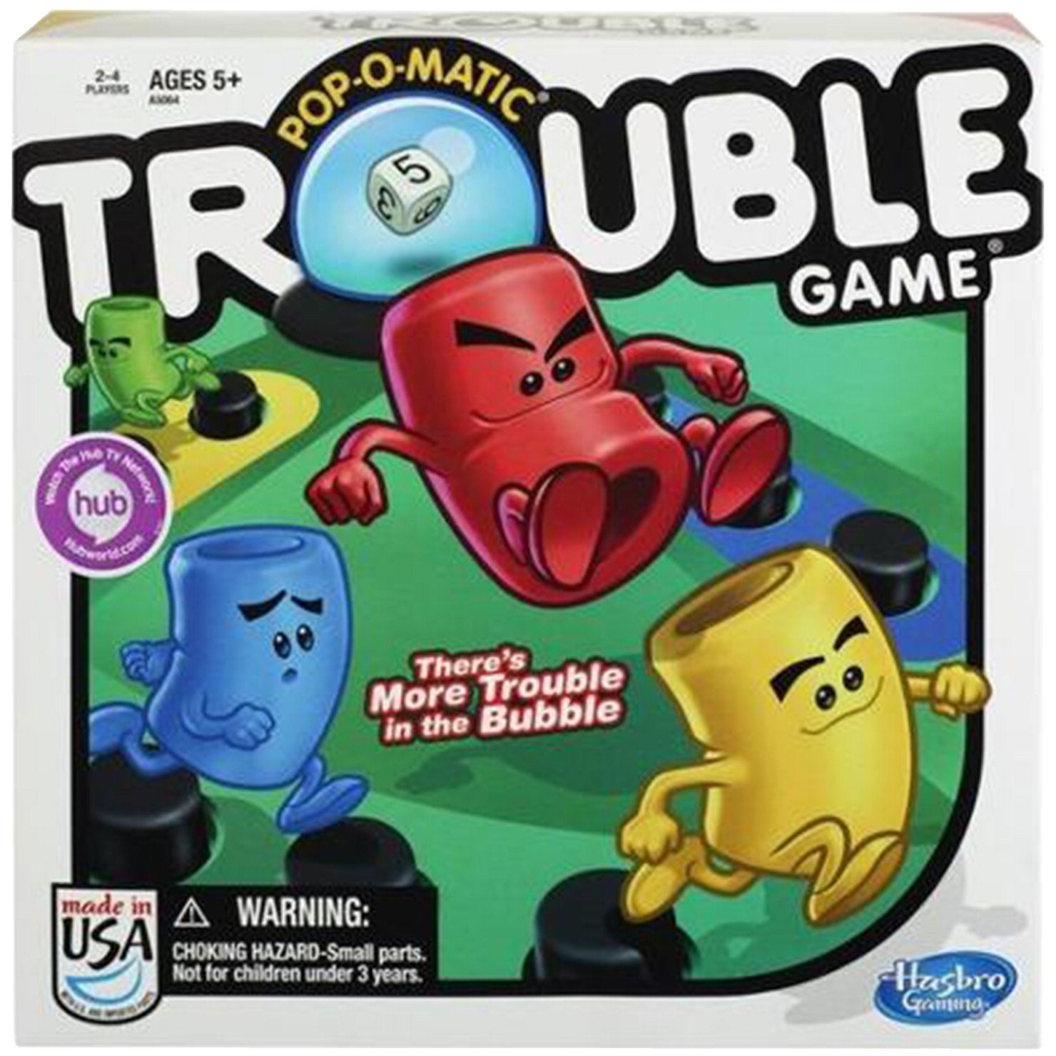 Hasbro Trouble PopOMatic Game Board games for kids
