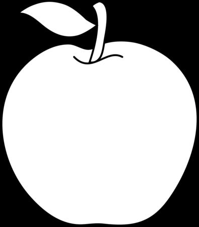 Jablka Apple Clip Art Apple Outline Apple Images
