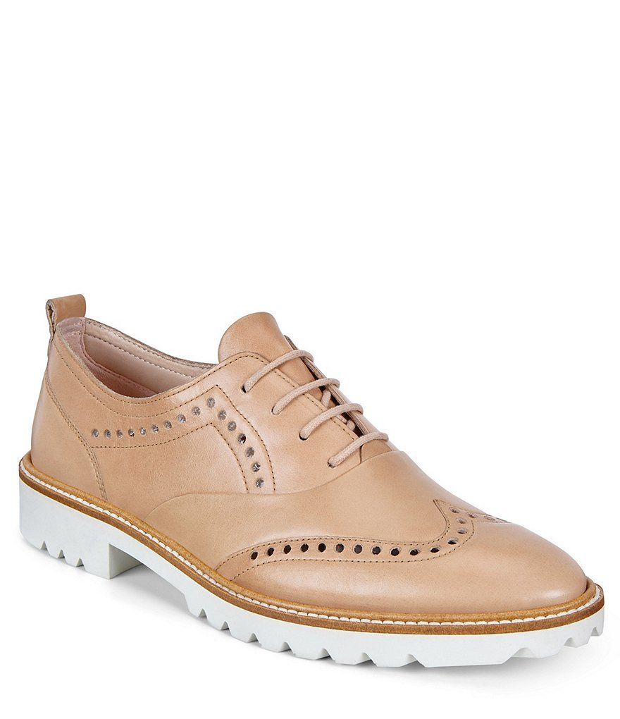 a8290a282bff1 ECCO Incise Leather Tailored Wing Tip Oxfords in 2019 | Clothes ...