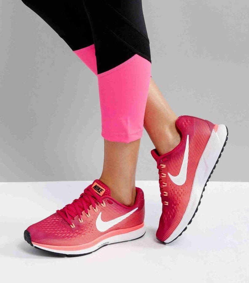 b3874a319b2bb Nike Womens Air Zoom Pegasus 34 Athletic Snickers Running Training Shoes Sz  11.5  Nike  Running