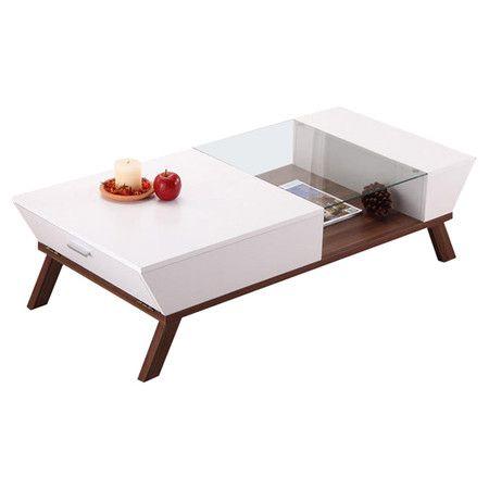 Found It At AllModern   Braxton Coffee Table In White U0026 Brown Http://