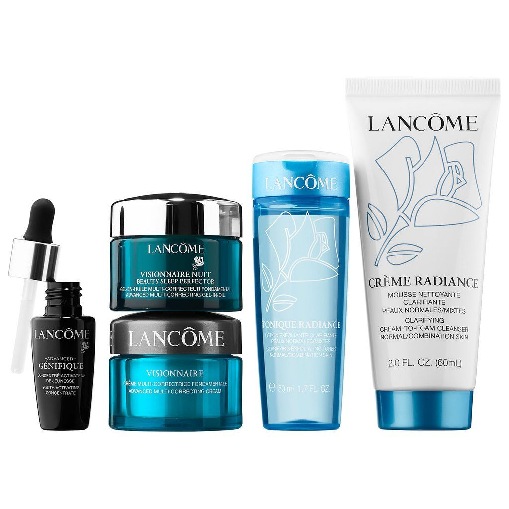 These 11 Skincare Sets Under 50 Help You Get Fancy On A Budget Lancome Skincare Skincare Set Skin Correcting