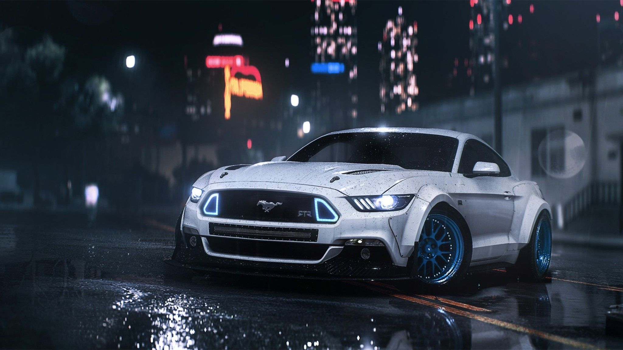 Need For Speed Mustang Hd 2048x1152