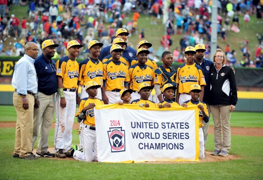 Jackie Robinson West 2014 United States Little League Champions 13 Boys From The South Side Of Chicago Earned A Jackie Robinson Little League World Series