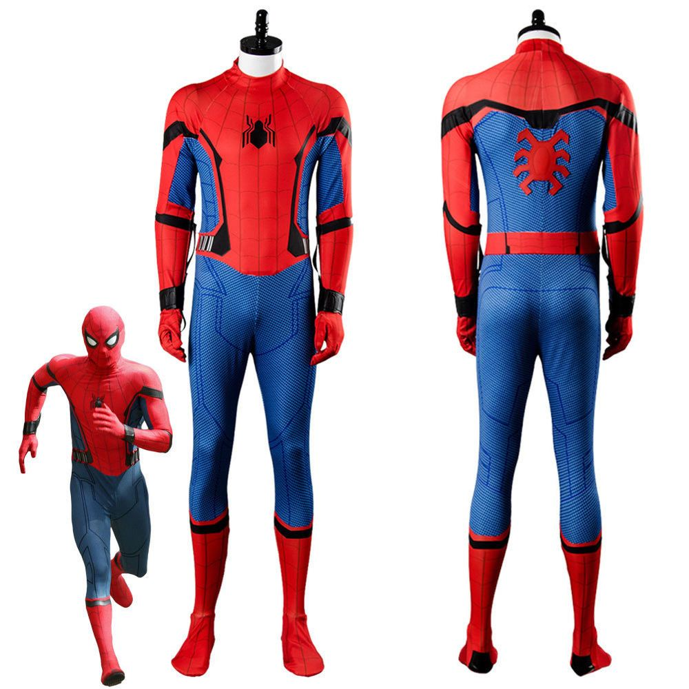 New Spider Man Homecoming Costume New Spiderman Cosplay Suit For