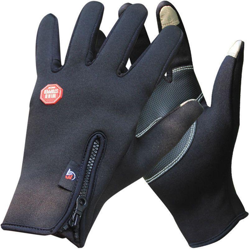 Outdoor Winter Warm Gloves Windproof Waterproof Thermal Touch Screen Mitten
