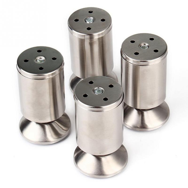 4pcs/pack Stainless Steel Kitchen Adjustable Feet Height ...