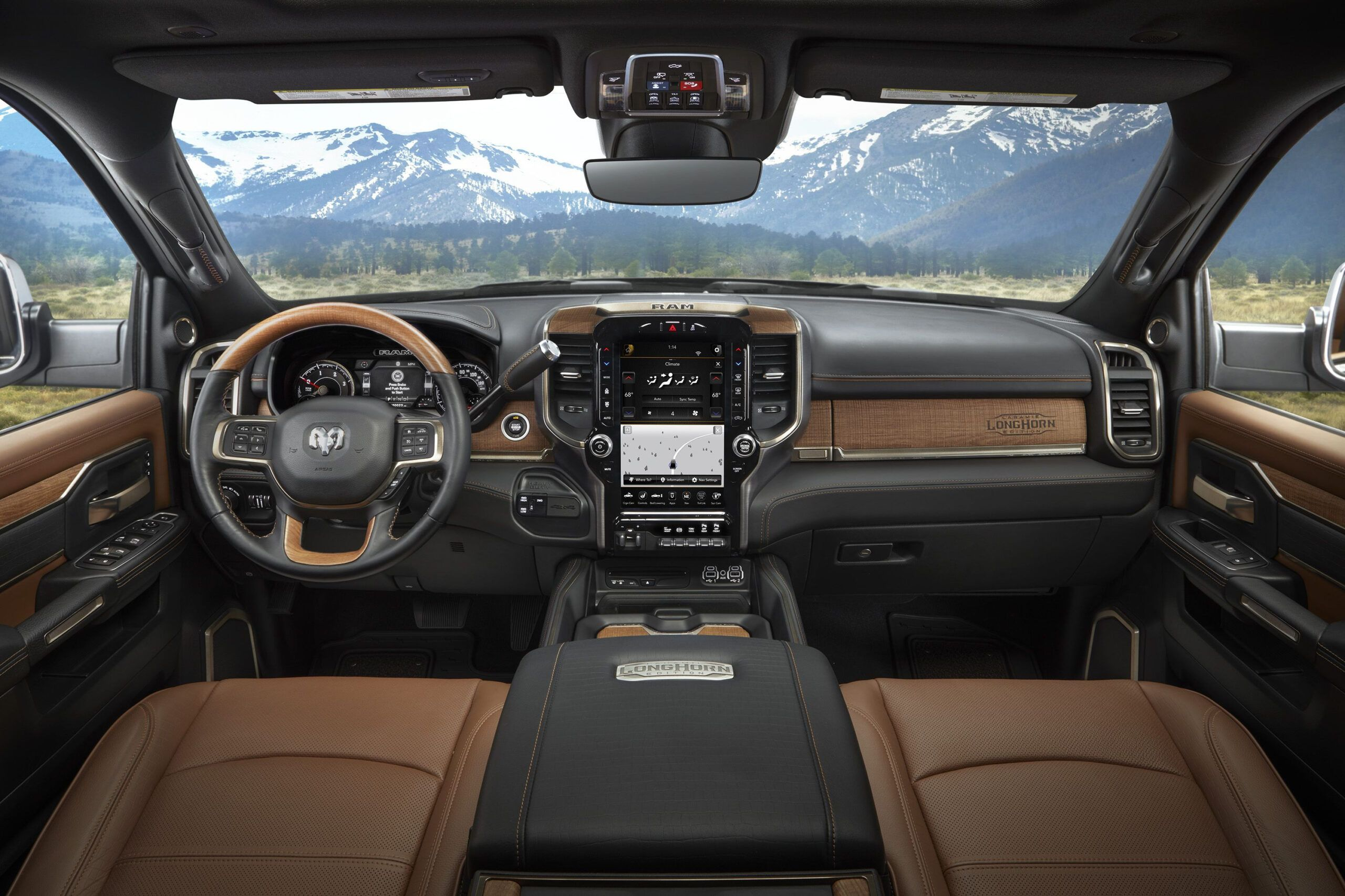 Dodge Ram 2020 Interior Overview In 2020 Dodge Ram Longhorn Truck Interior Dodge Ram