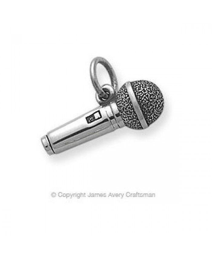 pandora microphone charm