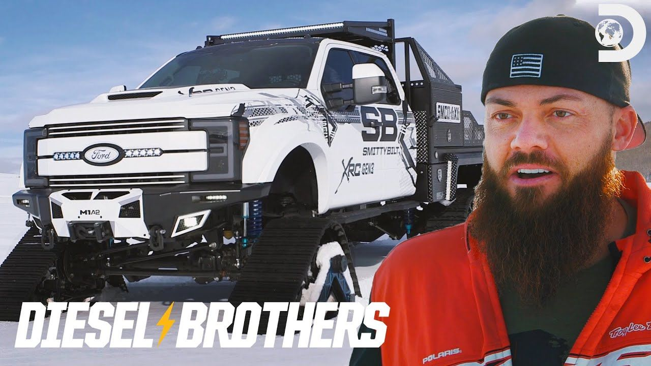 Heavy D S 6x6 With Tracks For Sema Diesel Brothers In 2020 With