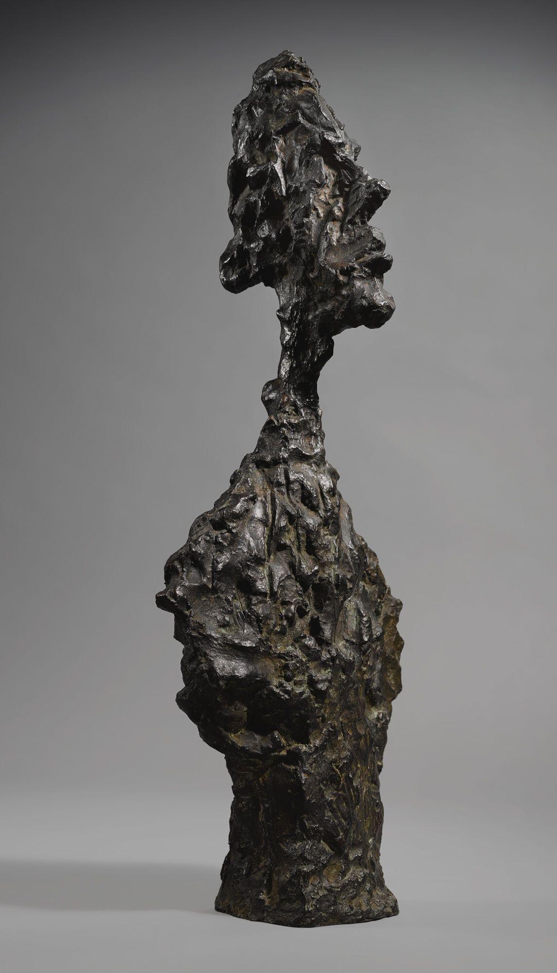 """Alberto Giacometti's """"Buste de Diego"""""""