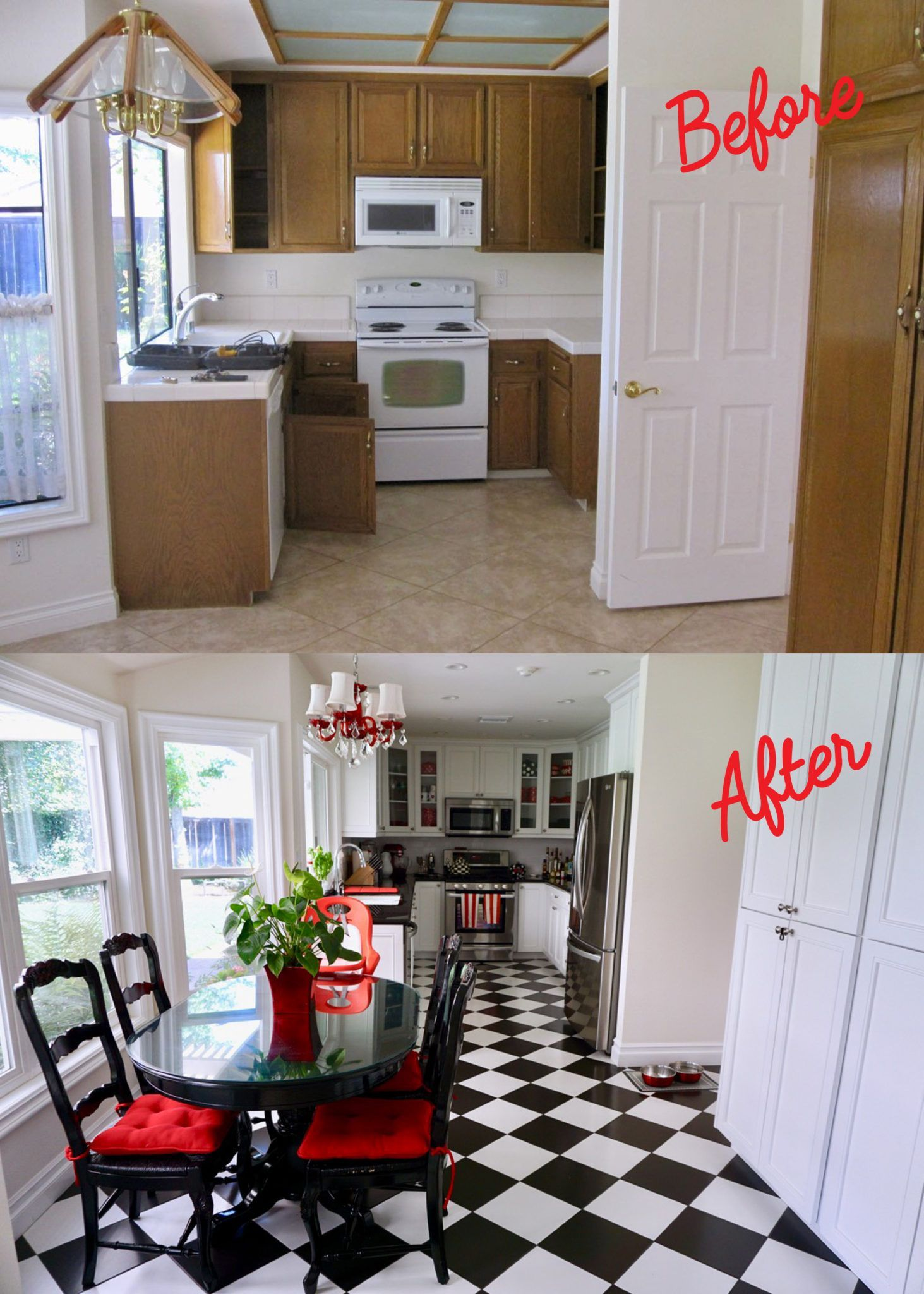 Check out these before and after kitchen remodels and find ...