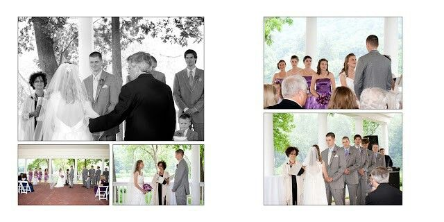 Wedding Album of Shawnee Inn Resort Pocono wedding photographer Rose Schaller Photo
