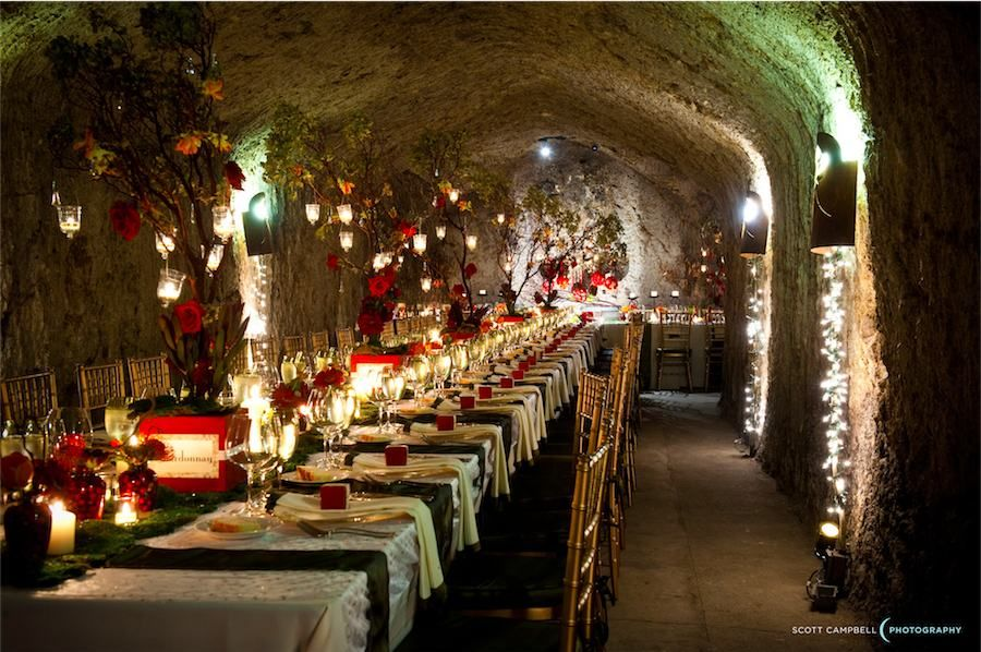 Callistoga WineryBeautiful Wedding in a cave! Wine