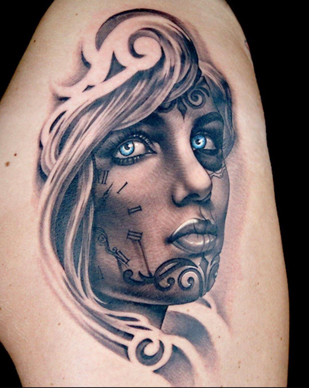 Don't normally like tattoos of people but this fantastical