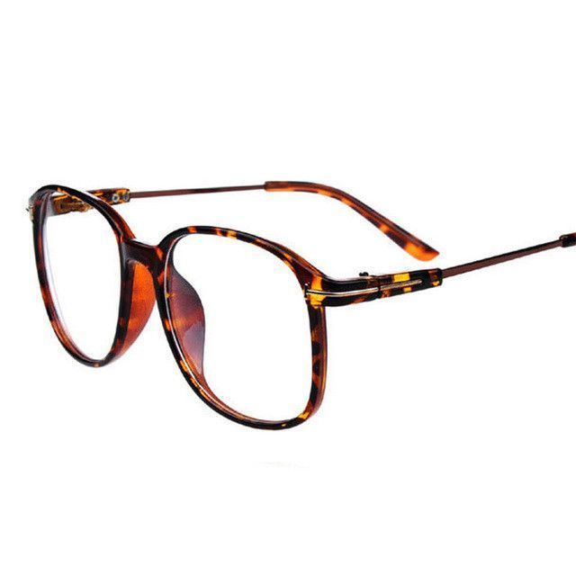 Ralferty Vintage Oversized Eyeglasses Women Optical Frames Myopia ...
