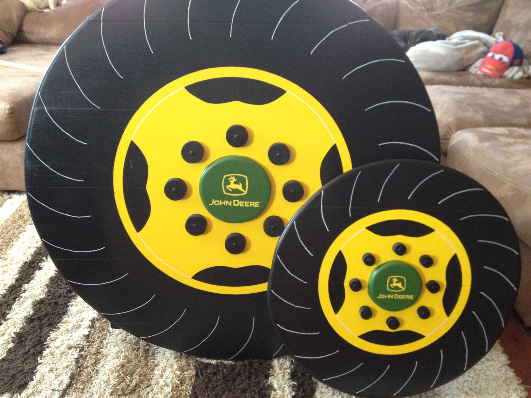 john deere bunk bed tires