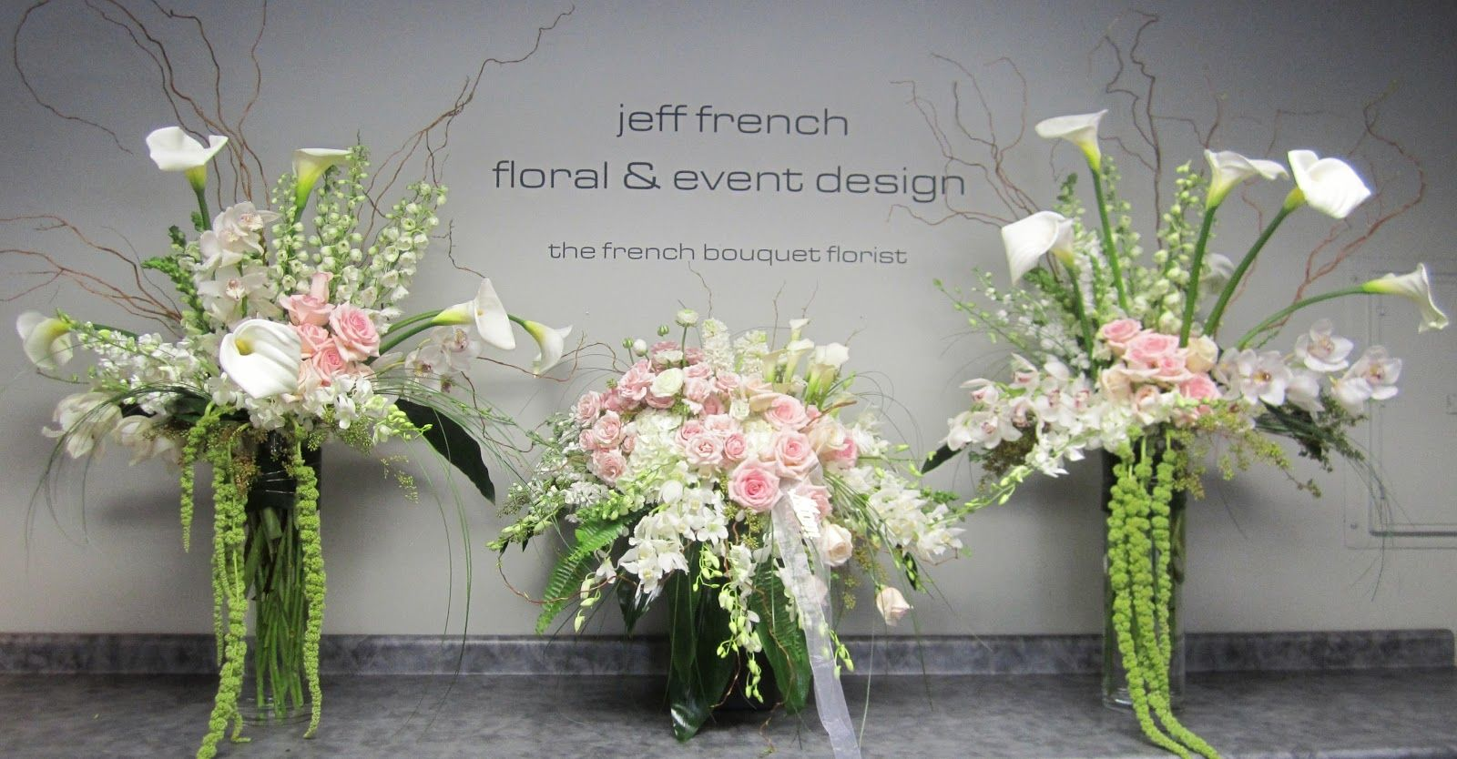 Funeral arrangements by Jeff French Floral and Event Design