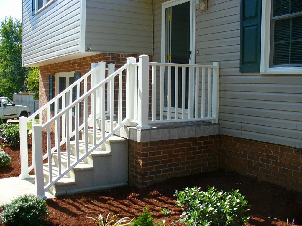 Best Very Pretty But Loose The Brick Concrete Porch 400 x 300