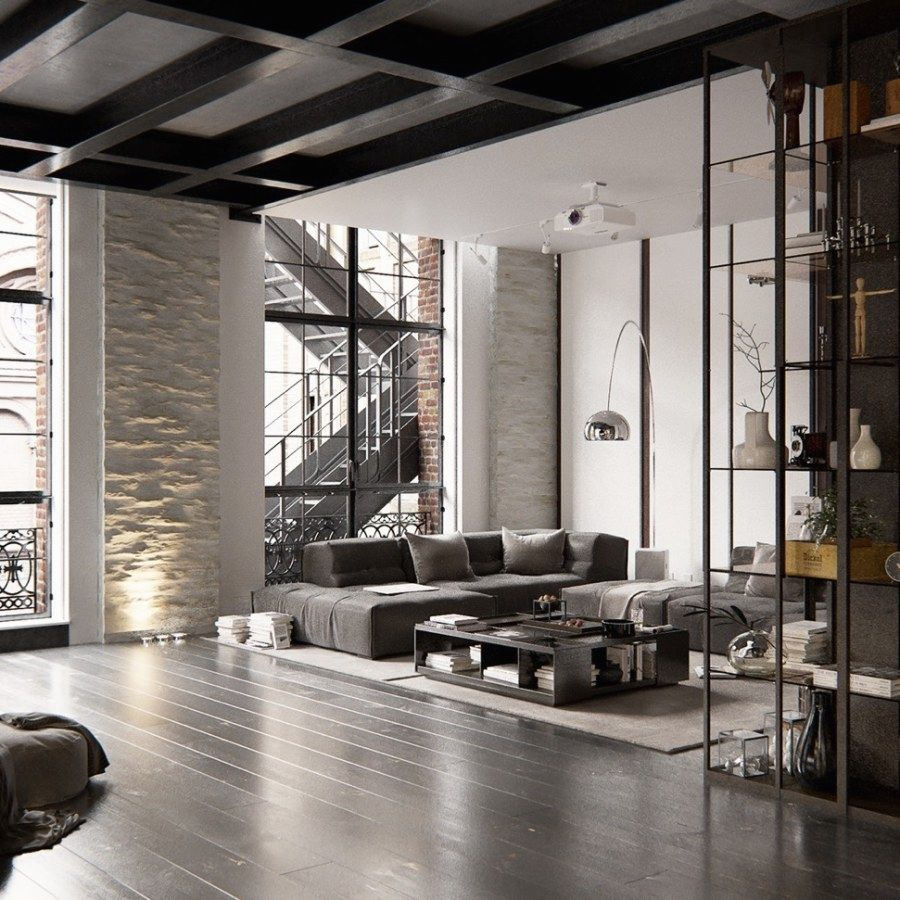 21 Beautiful Urban Industrial Decor plans To Complement Your Urban