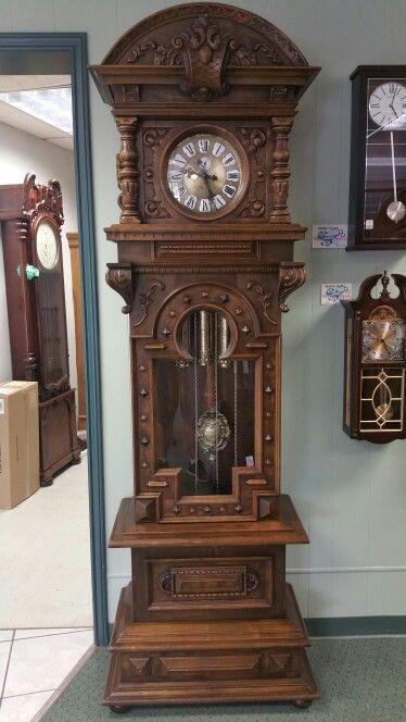 Mcguire Clocks Antique Grandfather Clock Clock Victorian Wall Clocks