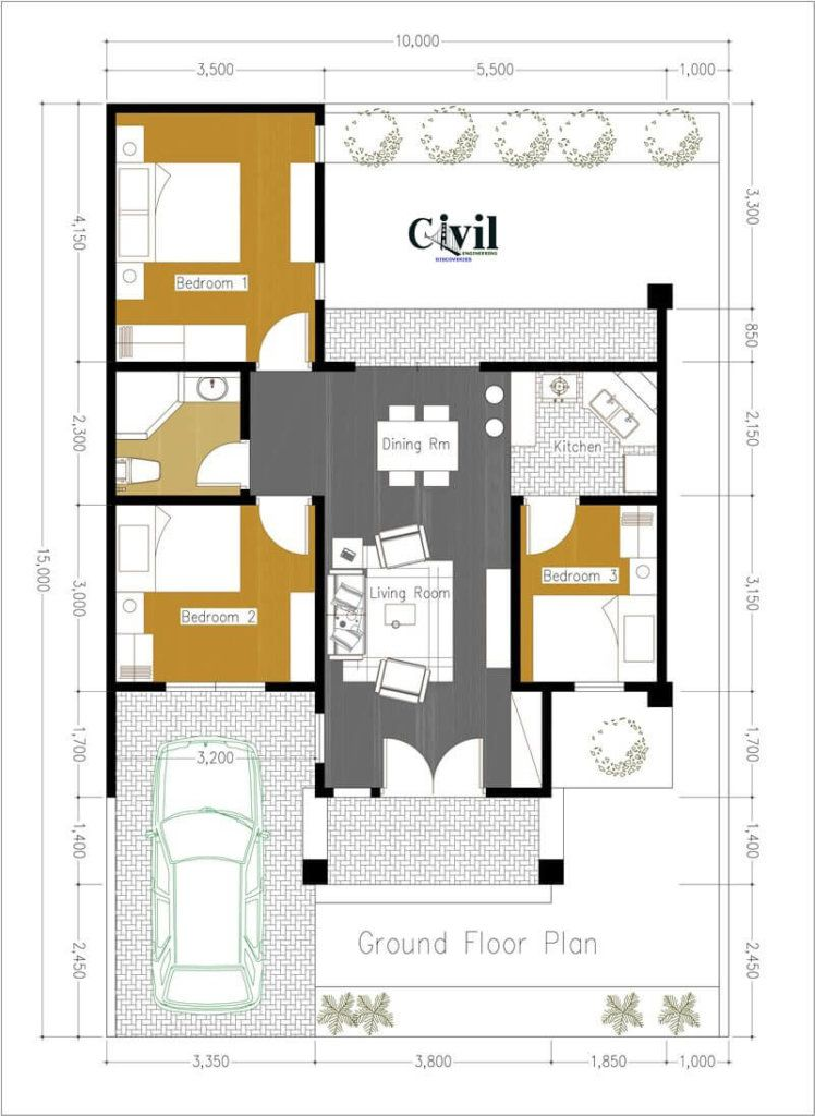 30 Amazing House Plan Design Ideas Engineering Discoveries In 2020 House Plans House Construction Plan Modern House Floor Plans