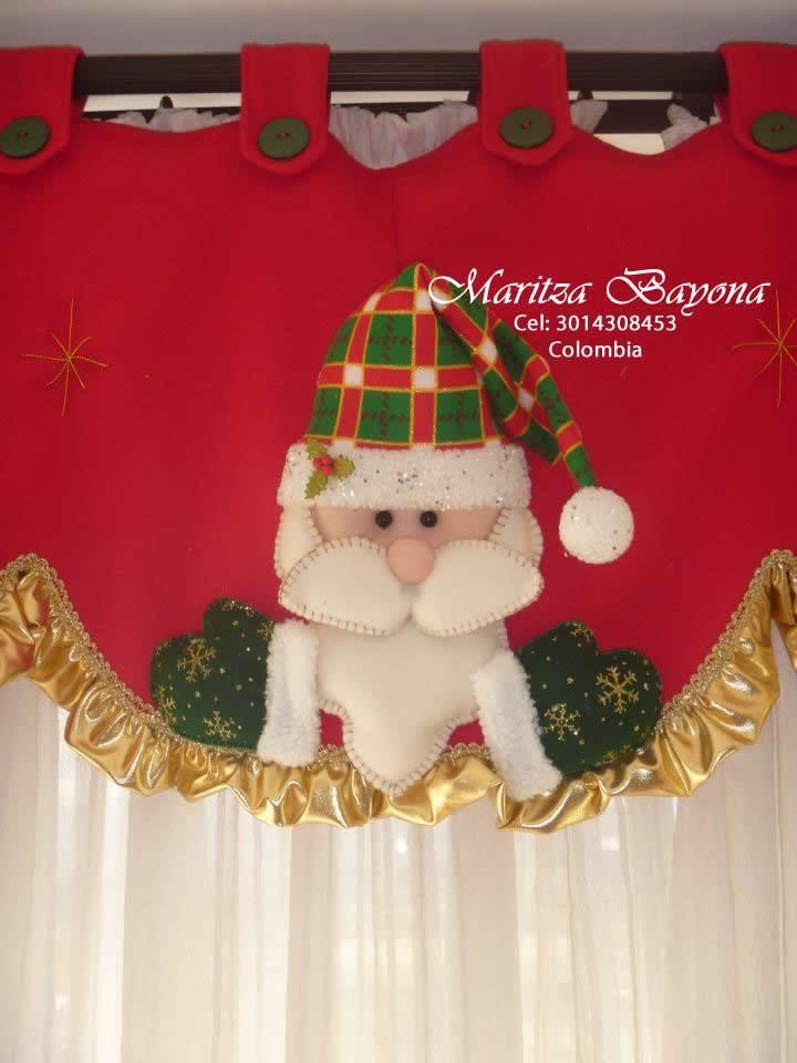 Resultado de imagen para cortinas navideñas con luces Para navidad