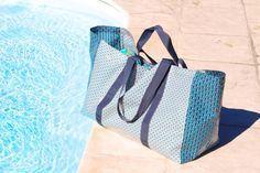 sac plouf cpourki couture couture sac sac de plage et sac. Black Bedroom Furniture Sets. Home Design Ideas