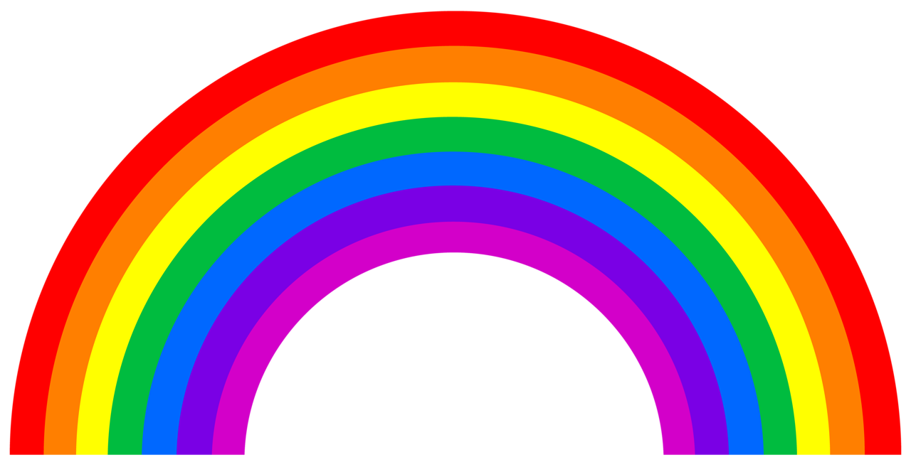 Rainbow arch bright and colourful pinterest rainbows for How to make a rainbow arch