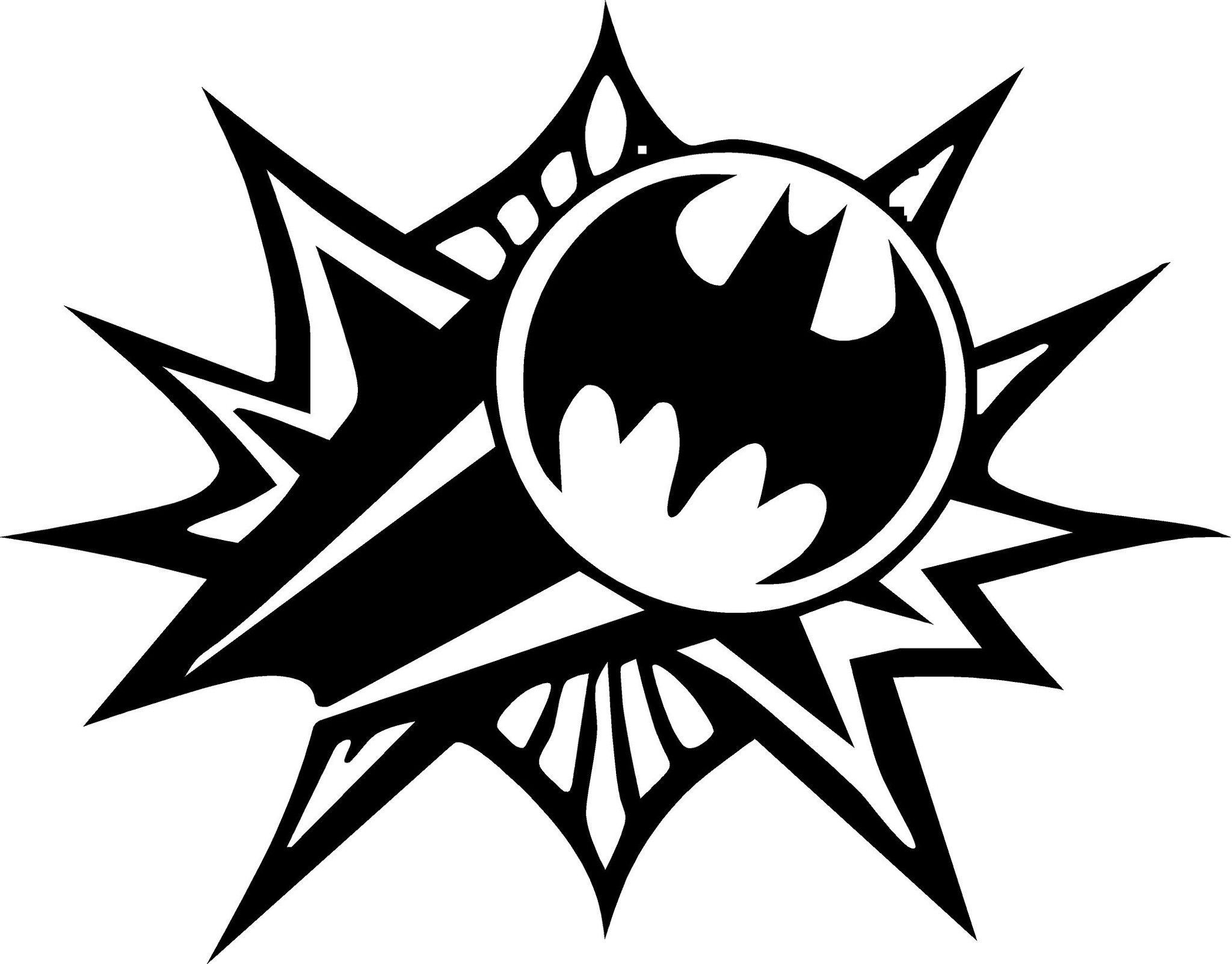 Batman Vinyl Decal measures approximately 7x5.5! Available
