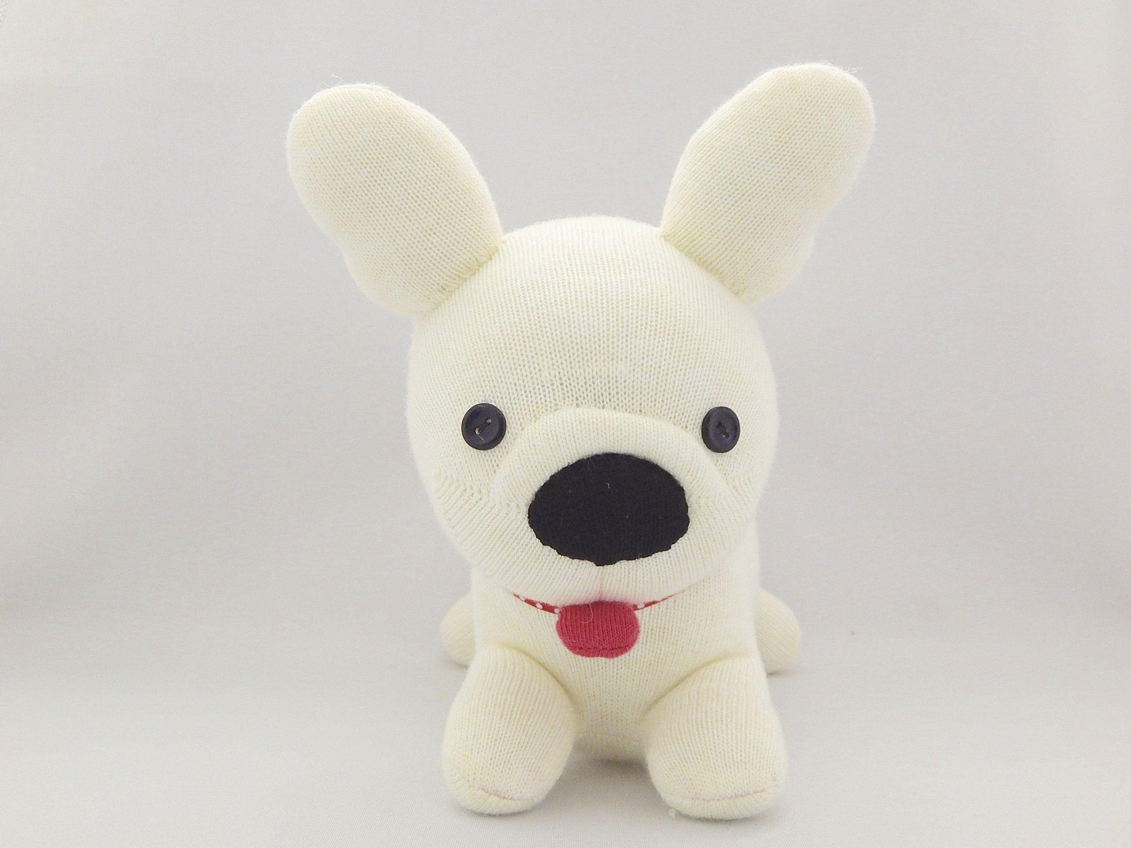 French Bulldog Puppy Plush Toy Frenchie Stuffed Animal Bulldog