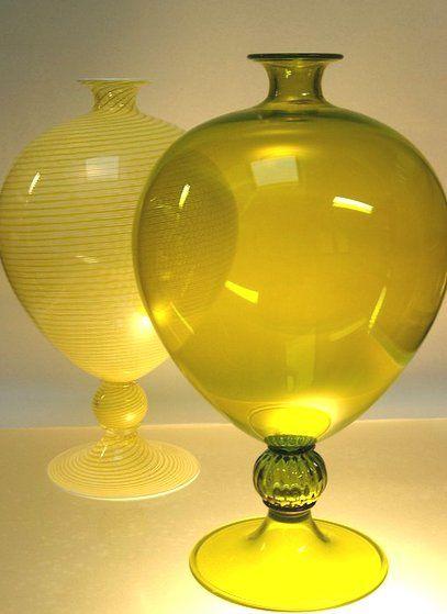 """Murano """"Veronese"""" vases"""