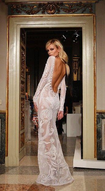 Natasha Poly for Emilio Pucci. Amazing dress