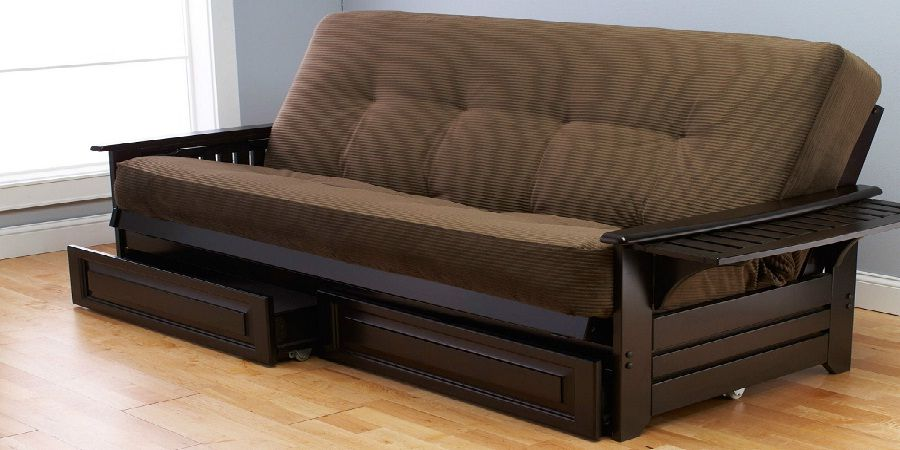 Sofa Bed With Wooden Frame