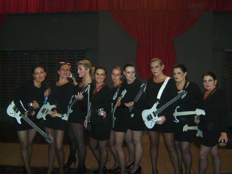 Cartoon Characters 80s Fancy Dress : Robert palmer ladies eat your heart out 80s fancy dress