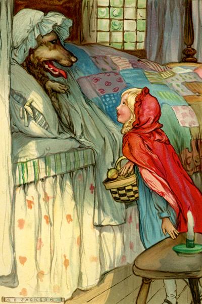 Original Little Red Riding Hood Fairy Tale