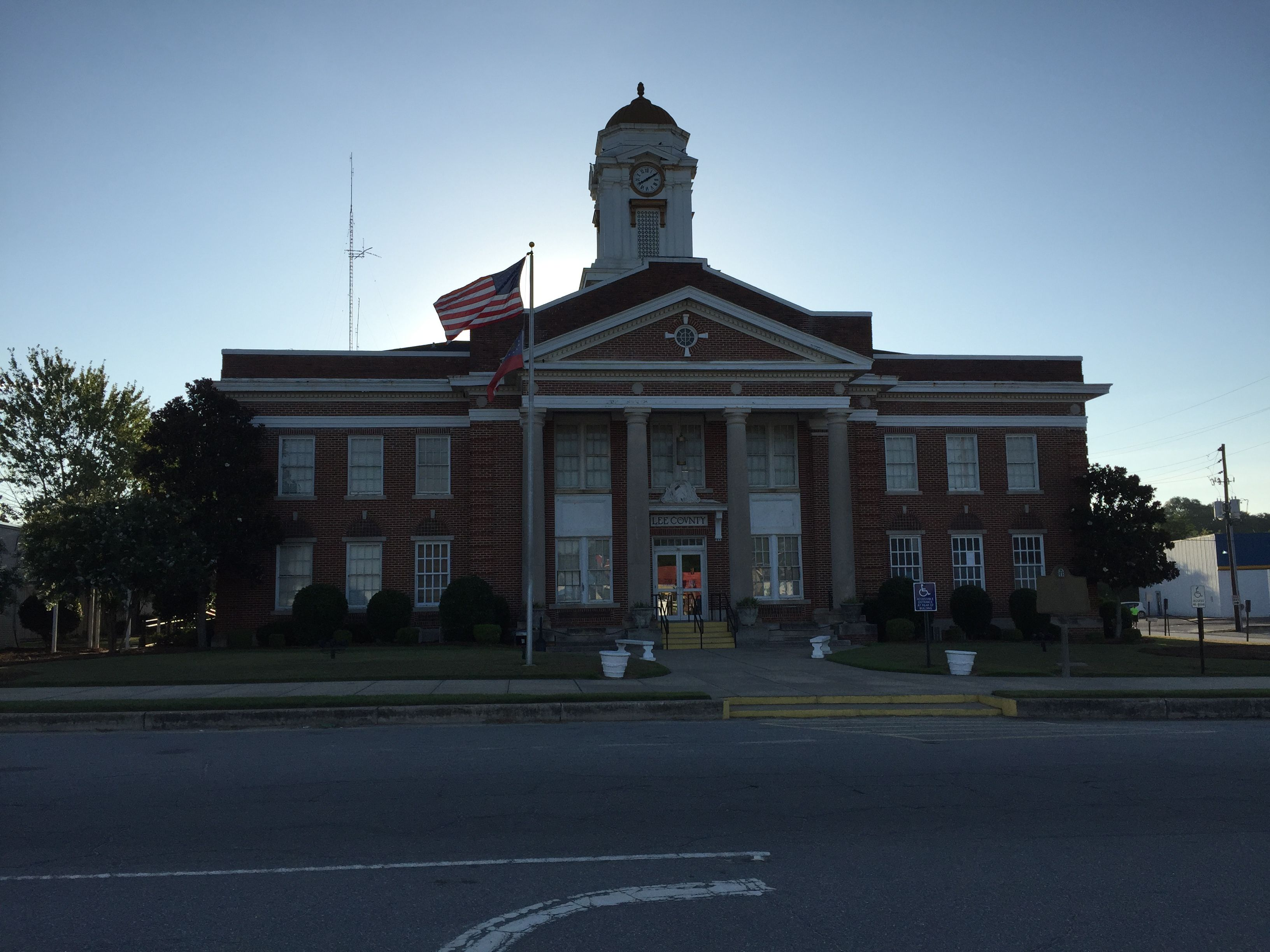 Lee County Courthouse in Leesburg, Paul Chandler
