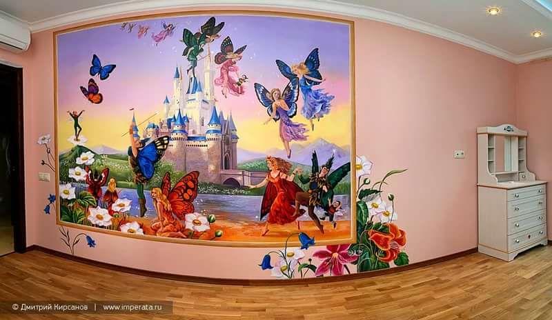как разрисовать стены комнаты: 11 тыс изображений найдено ...