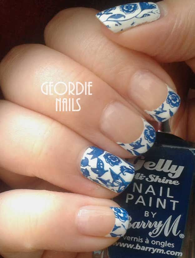 35 Unbelievably Brilliant French Manicures To Do At Home Manicure