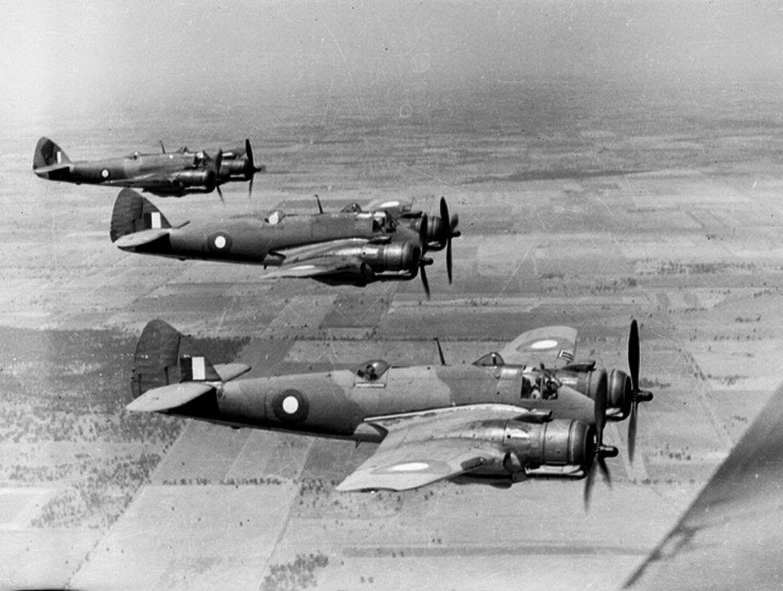 australia britain relationship ww2 airplane