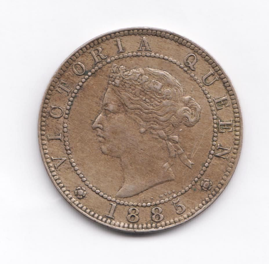 JAMAICA  1 Penny 1885   KEY DATE - LOW MINTAGE -  HIGH CONDITION COIN http://www.ebay.com/itm/JAMAICA-1-Penny-1885-KEY-DATE-LOW-MINTAGE-HIGH-CONDITION-COIN-/161641866337?pt=LH_DefaultDomain_0&hash=item25a29b2461