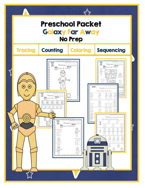 Preschool Printables: Preschool Packet \