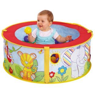 a58ba92ecd0615 Buy Chad Valley Indoor Pop-Up Ball Pit at Argos.co.uk - Your Online Shop  for Baby activity toys, Ball pits, Pre-school. £9.99
