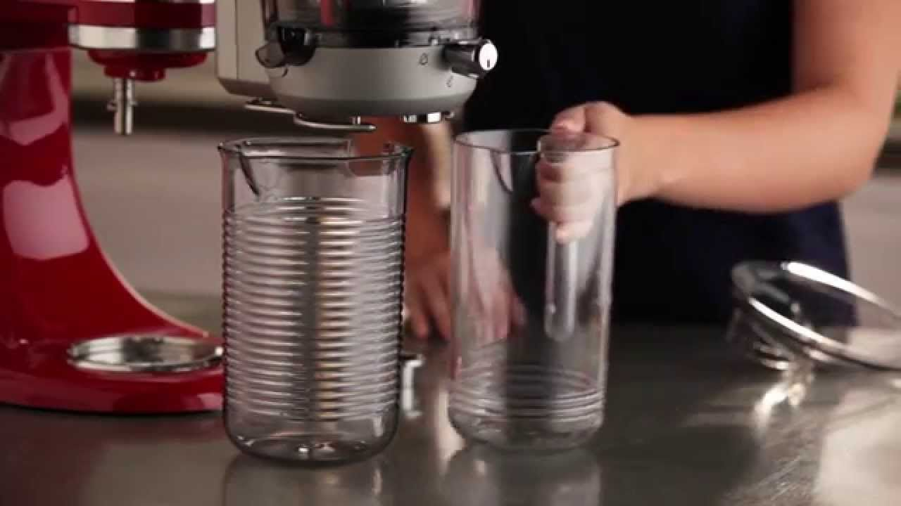 How to set up the juicer sauce attachment kitchenaid