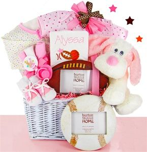 For 9395 get a personalized all star gift basket for the baby for 9395 get a personalized all star gift basket for the baby girl free negle Image collections