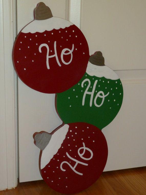 Wooden Ornament Handpainted Door Decoration by ...