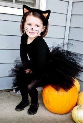 Pin De Mª Cristina En Halloween Disfraz Halloween Niña Disfraz De Gato Para Niño Disfraces De Animales Para Niños