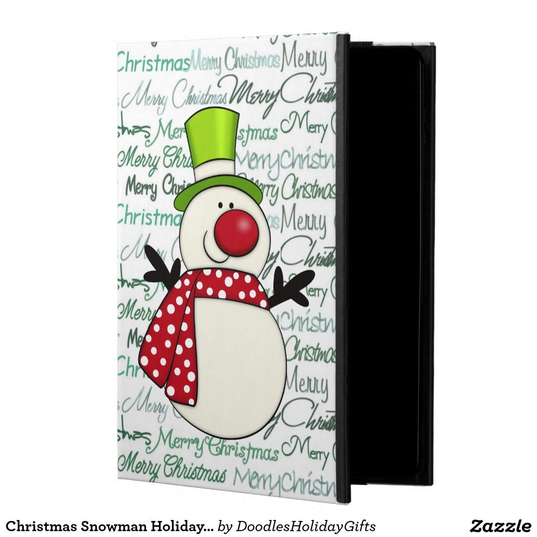 Christmas Snowman Holiday iPad Air 2 Powis icase Powis iPad Air 2 Case